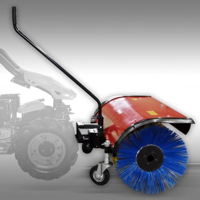 Borsteleenheid voor motorische werktuigendrager Jansen MGT-420, 1m werkbreedte