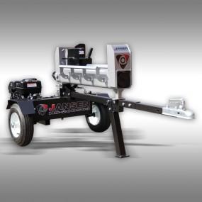 Houtklover Jansen HS-20DS63, 20 t, 63 cm, benzine, dubbelwerkende Kloofmachine