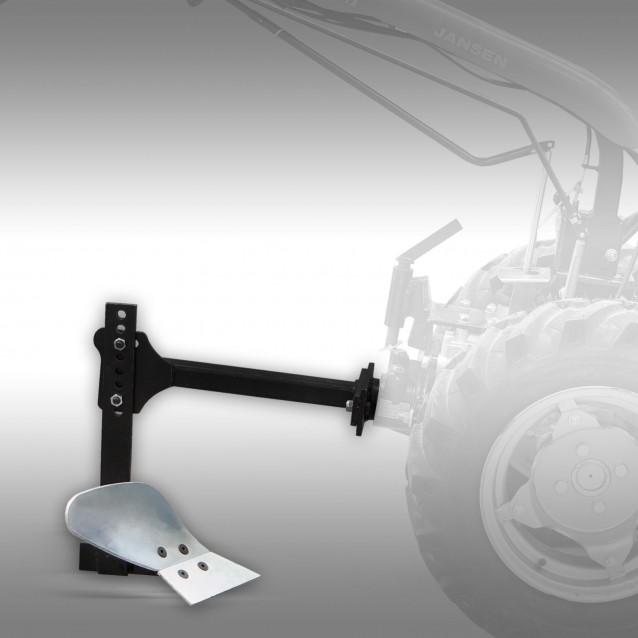 Ploeg voor motorische werktuigendrager Jansen MGT-800D