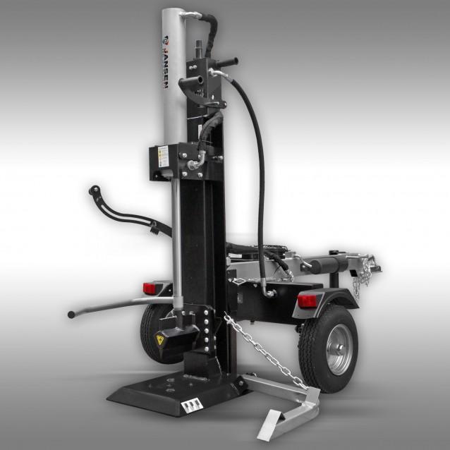Holzspalter Jansen HS-22A62-V2, 22 t, 62cm, Benzinmotor, stehend