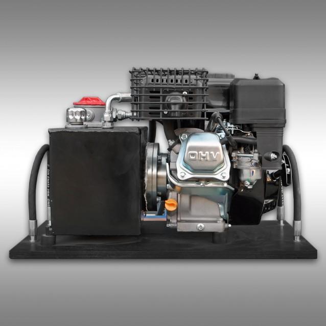 Hydraulische aggregaat voor transportaanhanger Jansen HRW-15, benzinemotor