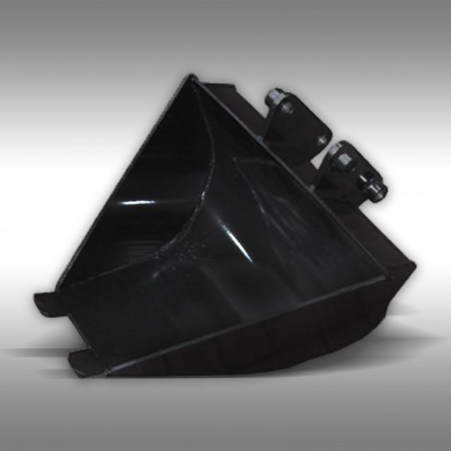 Graafbak profiel 600 / 200 mm voor de 9 PK minigraafmachine Jansen MB-300