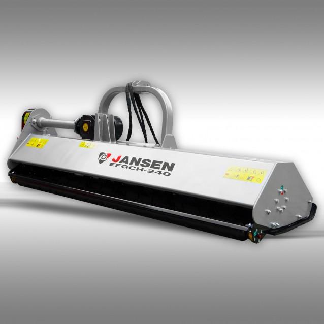 Klepelmaaier Jansen EFGCH-240 cm met hydraulische zijdelingse verschuiving
