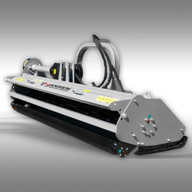 Klepelmaaier Jansen EFGCH-220 cm met hydraulische zijdelingse verschuiving