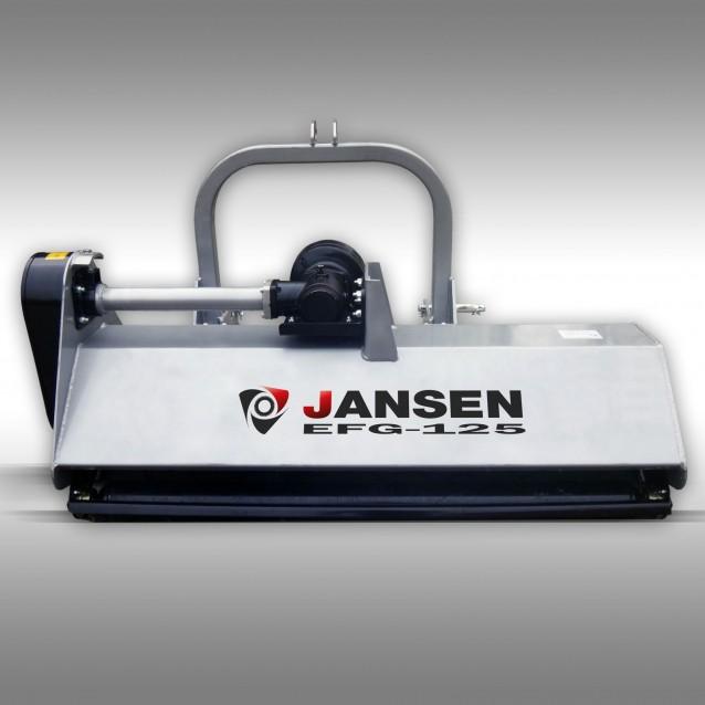 Klepelmaaier Jansen EFG-125 cm, mulchmaaier, maaiwerk