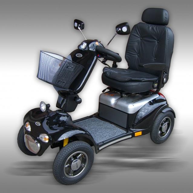 Scootmobiel, senioren mobiel, Shoprider 889XLSBN (ABE), kleur: zwart