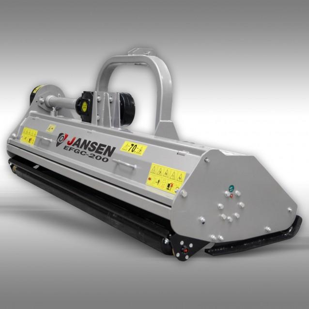 Klepelmaaier Jansen EFGC-200 cm, klepelmaaiwerk, mulcher, maaiwerk